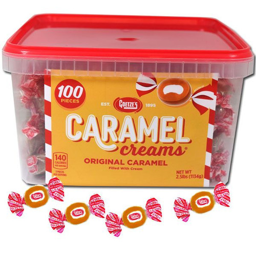 Goetz Caramel Creams 100 Count