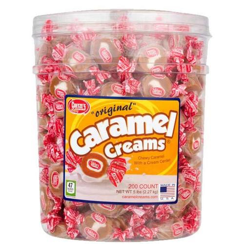 Caramel Creams Original 200 Count Jar