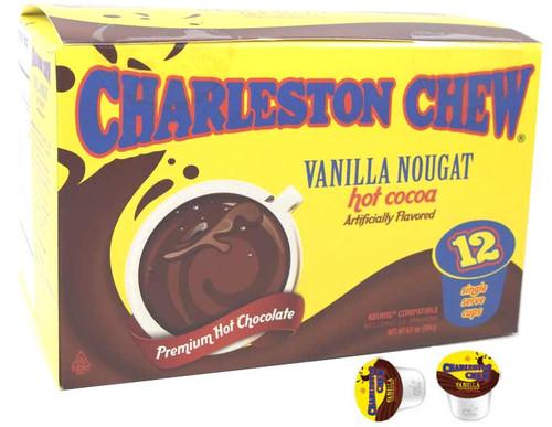 Charleston Chew Vanilla Hot Cocoa K Cups 12 Count