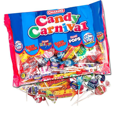 Charms Carnival Candy Mix 25oz