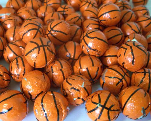 Chocolate Basketballs 2lbs Made In The USA