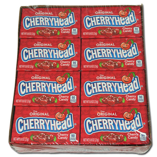 Cherry Heads Candy 24 Count