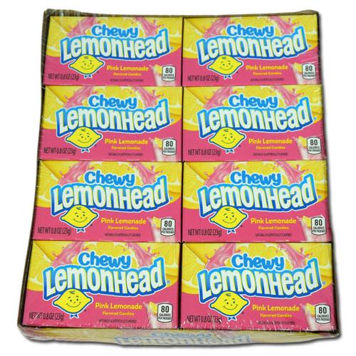 Chewy Lemon Heads Pink Lemonade  24 Count