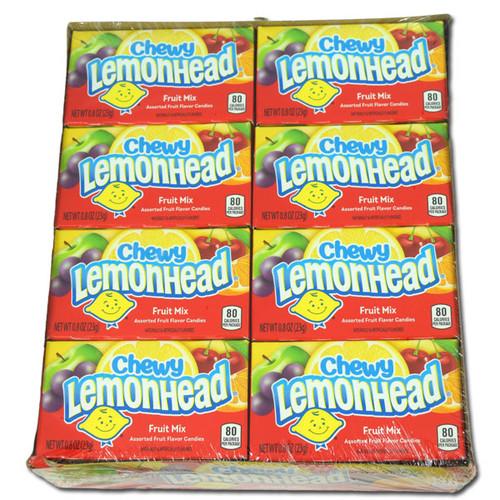 Chewy Lemon Heads Fruit 24ct