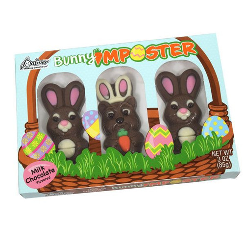 Chocolate Bunny Imposters 3 Pack