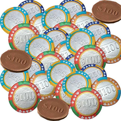 Chocolate Casino Coins 420 Count