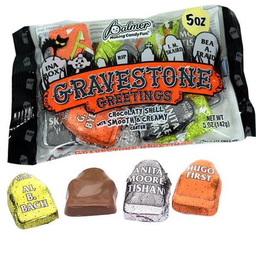 Chocolate Gravestone Greetings 5oz (15)