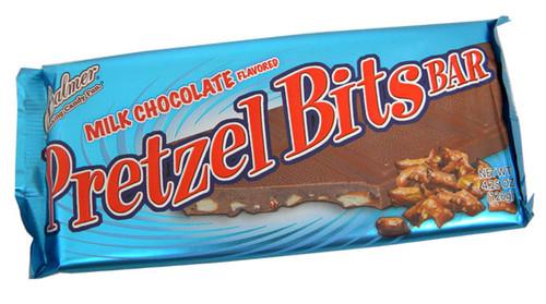 Chocolate Pretzel Bits Candy Bar 4.25oz