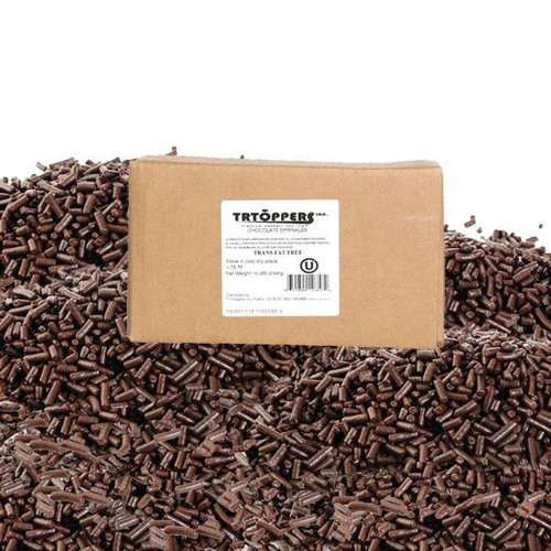 Chocolate Sprinkles Decorettes 10lb