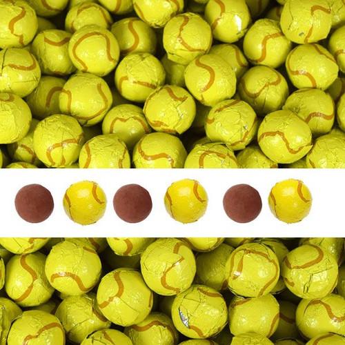 Chocolate Tennis Balls 2lb (140)