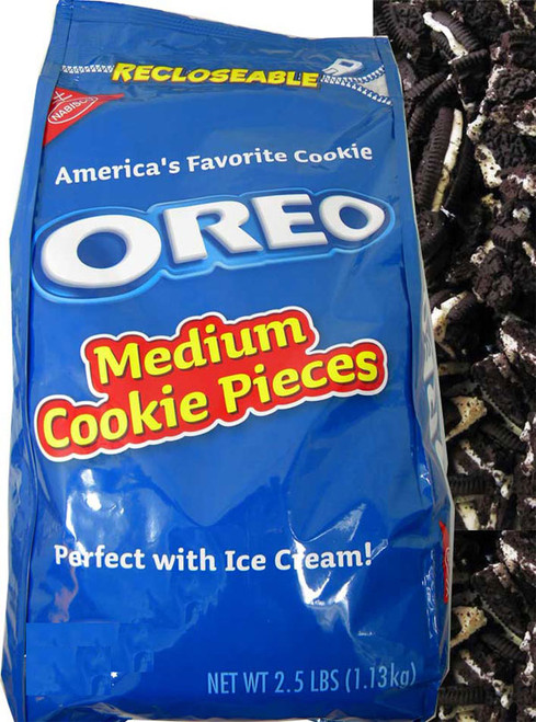 Oreo Cookie Pieces Topping 2.5lb Bag