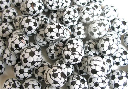 Chocolate Soccer Balls 32oz