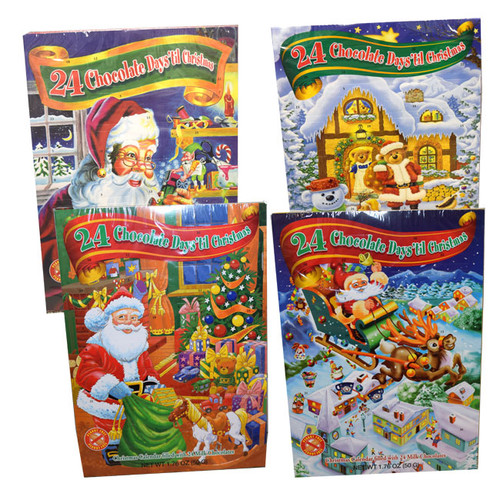 Advent Calendar With Chocolate