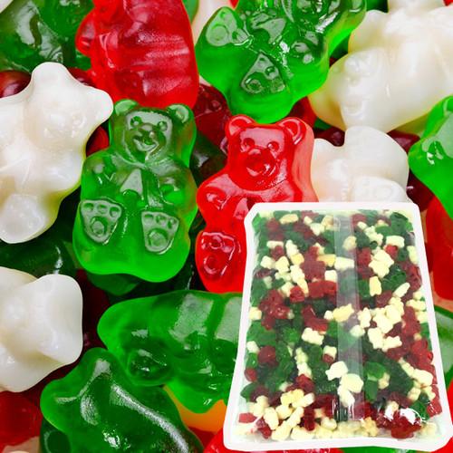 Christmas Gummi Bears 5lb Bag