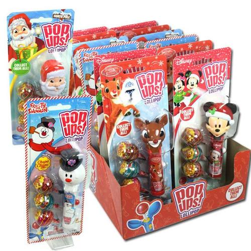 Christmas Pop Ups Lollipops 12 Count