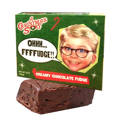 Christmas Story Chocolate Fudge 8oz Box