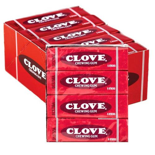 Clove Gum 20 Count Box