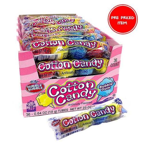 Cotton Candy Dubble Bubble Gum 36ct