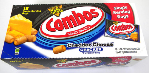Combo's 18ct - Cheddar Cracker