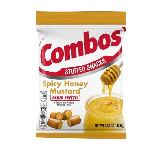 Combo's Spicy Honey Mustard 6.3oz Bag