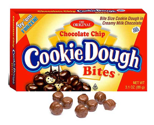 Chocolate Chip Cookie Dough Bites Theater Size