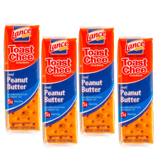 Lance Cheese Crackers 20ct  - Peanut Butter