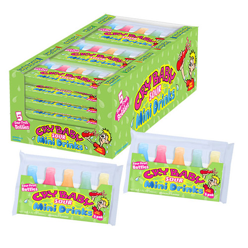 Cry Baby Sour Mini Drinks 18 Count