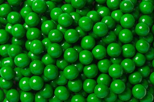 Dark Green Mini Chocolate Balls 2lb Sixlets