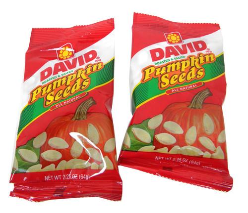 David's Pumpkin Seeds 12 Bags