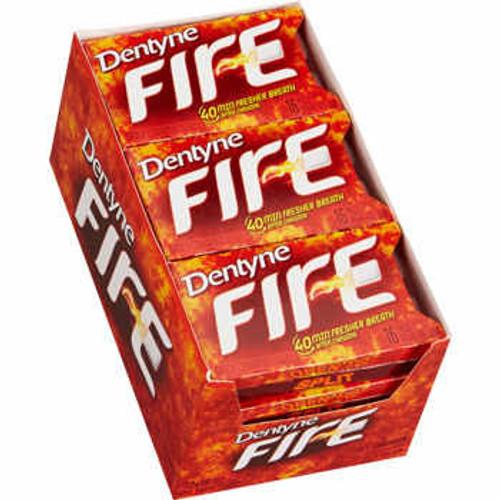 Dentyne Ice Sugarless Gum 9ct - Cinnamon Fire