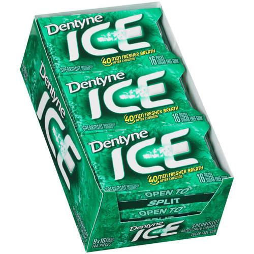 Dentyne Ice Sugarless Gum 9ct - Spearmint