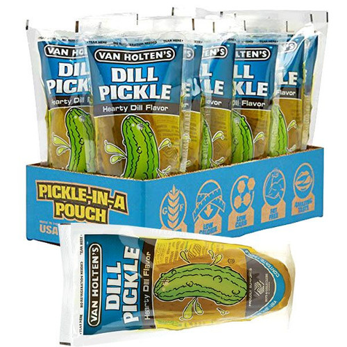 Dill Pickles 12 Count By Van Holten's