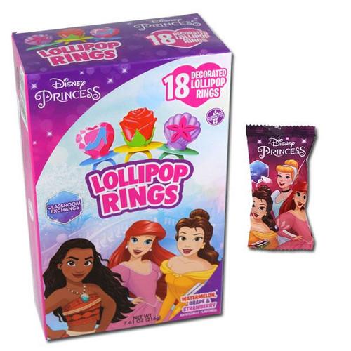 Disney Princess Ring Pops 18 Count