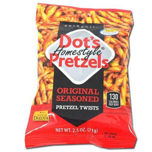 Dots Homestyle Pretzels 2.5oz Bag