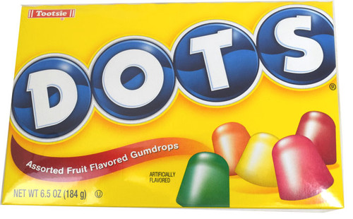 Dots Gumdrop Candy 6.5oz Box