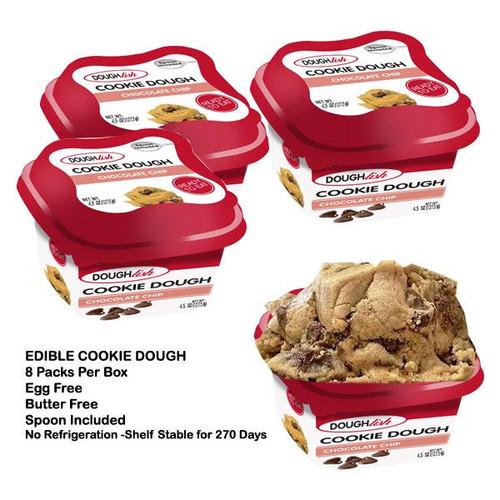 Doughlish Edible Chocolate Chip 8 Count