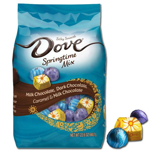 Dove Spring Time Easter Mix 22.6oz (85 Count)