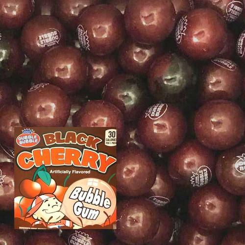Dubble Bubble Black Cherry Gumballs 850 Count Bulk