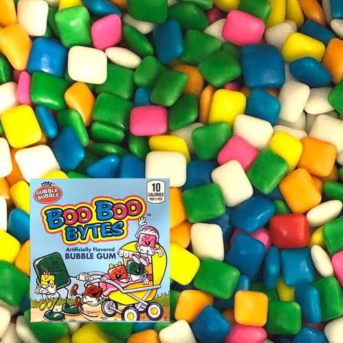 Dubble Bubble Boo Bytes Chiclets Gum 33lb Bulk