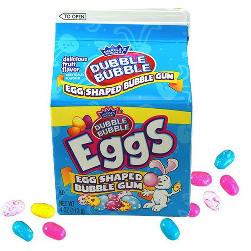 Dubble Bubble Eggs 4oz Carton