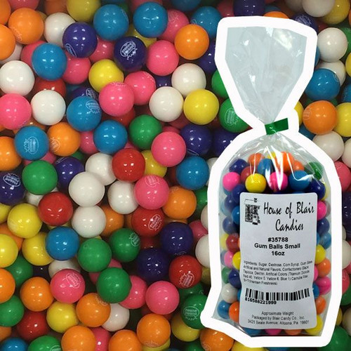 Small Gumballs 1lb Dubble Bubble