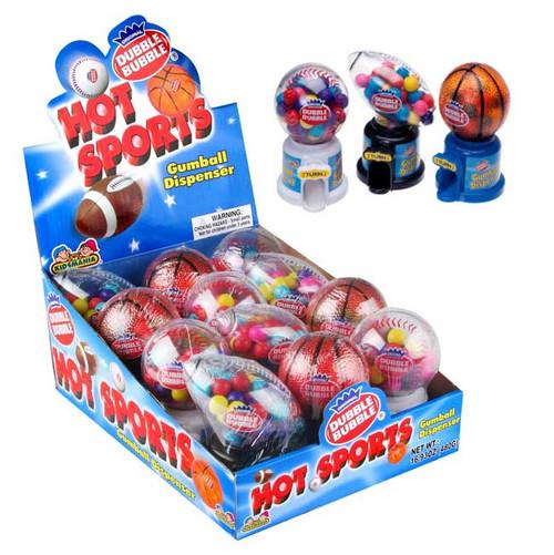 Dubble Bubble Hot Sports 12 Count