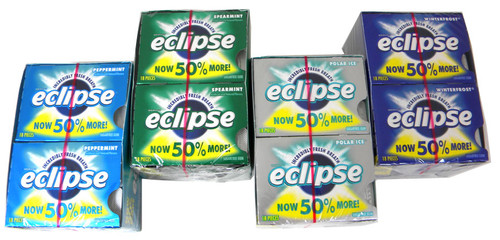 Eclipse Sugarless Gum 8ct  - Choose Flavor