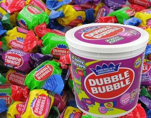 Dubble Bubble Bubble Gum 300ct  Assort