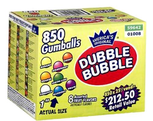 DUBBLE BUBBLE GUMBALLS 850CT