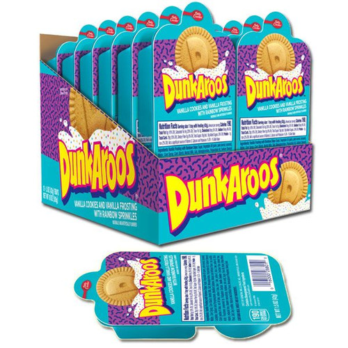 Dunkaroos White Frosting 12 Count
