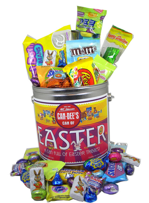 Deluxe Can Full Of Easter Candy (60 Pieces)