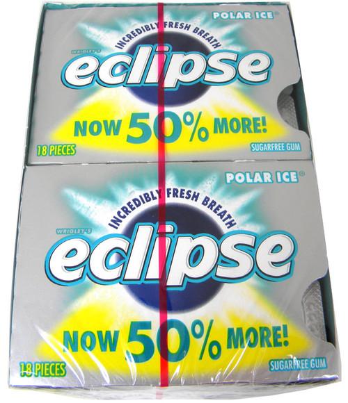 Eclipse Sugarless Gum Polar Ice 8ct