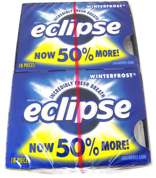 Eclipse Sugarless Gum 8ct - Winter Frost