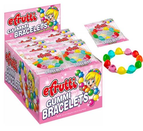 eFrutti Gummi Bracelets 40 Count